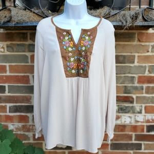 Umgee | Bohemian Style Embroidered Dress